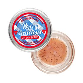 唇部保養產品-莓好時光唇部柔滑去角質果醬