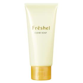 Freshel 膚蕊 洗顏-濃密泡沫皂霜