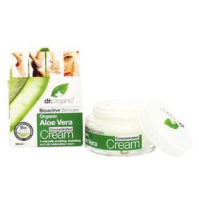 dr. organic 丹霓珂 乳霜-蘆薈B5精華霜 Aloe Vera Concentrated Cream
