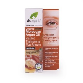 dr. organic 丹霓珂 眼部保養-摩洛哥堅果亮眼撫紋精萃 Moroccan Argan Oil Instant Tightening Eye Serum