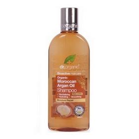 dr. organic 丹霓珂 洗髮-摩洛哥堅果髮絲亮澤洗髮精 Moroccan Argan Oil Shampoo