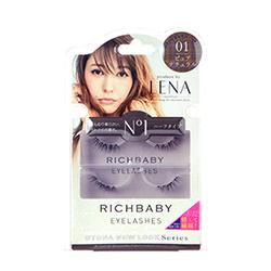 藤井LENA混血美形假睫毛(No. 01甜心可愛款) RICHBABY  NO.01