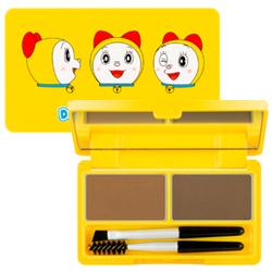 哆啦美雙色眉粉盒