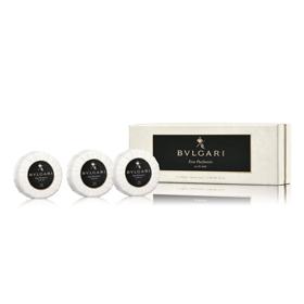 BVLGARI 寶格麗 中性香水-黑茶中性香氛皂三入組