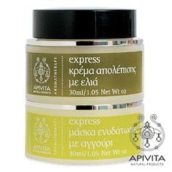 APIVITA 艾蜜塔 乳霜-滑嫩保水二合一組