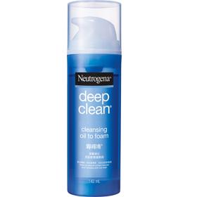 Neutrogena 露得清 深層淨化系列-洗卸輕透潔顏油 Deep Clean Cleansing Oil to foam