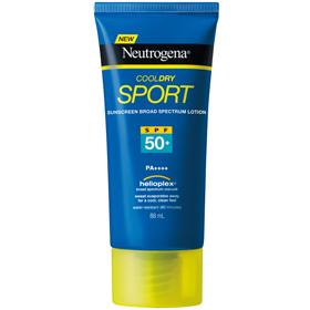 Neutrogena 露得清 身體防曬-極透氣清爽運動防曬乳SPF50+/PA++++ Cool Dry Sport Lotion SPF50+/PA++++