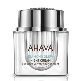 AHAVA 愛海珍泥 乳霜-礦鑽光極致晚霜 DIAMOND GLOW Night Cream