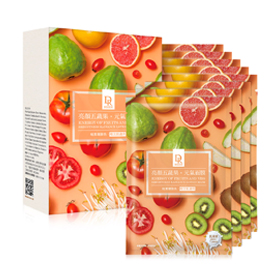Dr. Hsieh 達特醫 保養面膜-亮顏五蔬果元氣面膜