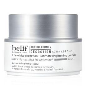 belif 臉部保養-乳霜系列-石楠花水光亮采精華霜