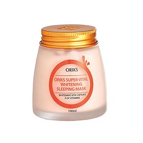 ORIKS 保養面膜-晚安亮妍奇肌霜  Super Vital Whitening Sleeping Mask