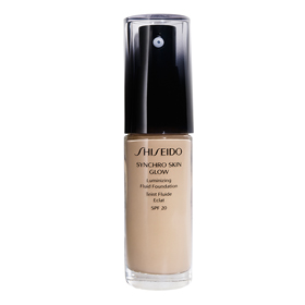 SHISEIDO 資生堂-專櫃 粉底液-時尚色繪長效輕裸粉蜜 Synchro Skin Glow Luminizing Fluid Foundation SPF20