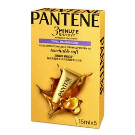 PANTENE 潘婷 護髮-3分鐘極緻修護精華-多效損傷修護