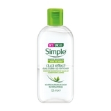 雙效輕柔眼部卸妝液 Simple kind to skin dual effect eye make-up remover