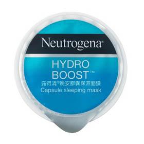 Neutrogena 露得清 水潤保濕系列-膠囊保濕面膜