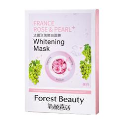 法國玫瑰嫩白面膜