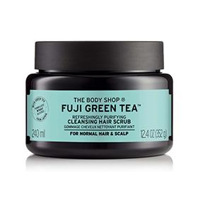 The Body Shop 美體小舖 頭皮護理-富士山綠茶淨化頭皮去角質洗髮霜