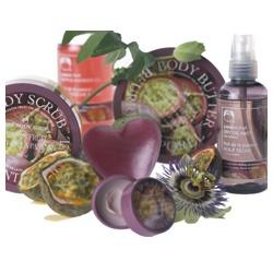 The Body Shop 美體小舖 百香果身體系列-百香果限量版心型香皂