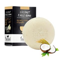 椰子米漿草本香皂 Herbal Soap  Coconut&Rice Bran