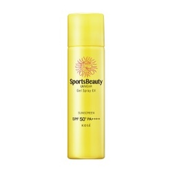 極度沁涼防曬噴霧SPF50+/PA++++ SportsBeauty UVWEAR Cool Gel Spray