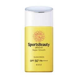 極度零感防曬露SPF50+/PA++++ SportsBeauty UVWEAR Super Smooth
