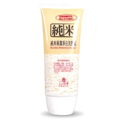 純米保濕淨白洗面乳 Rice Bran Moisturizing Cleanser