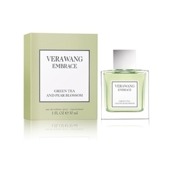 王薇薇同名淡香水擁抱系列(梨花綠茶) Vera Wang Embrace Green & Green Tea blossom