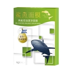 角鯊控油潔淨面膜 Oil-Control Balance Serum Mask