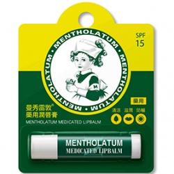 MENTHOLATUM 曼秀雷敦 唇部保養-藥用潤唇膏SPF15