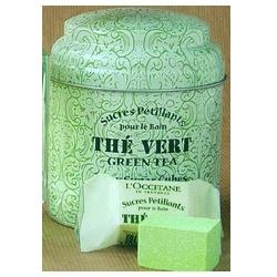 L'OCCITANE 歐舒丹 綠茶-綠茶泡泡方糖 Green Tea Fizzy Sugar Cubes