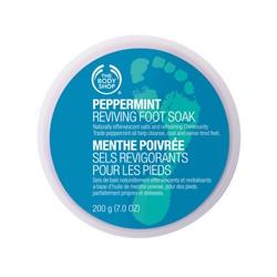 The Body Shop 美體小舖 薄荷足部沁涼系列-薄荷沁涼足部浸泡素 Peppermint Cooling Foot Soak