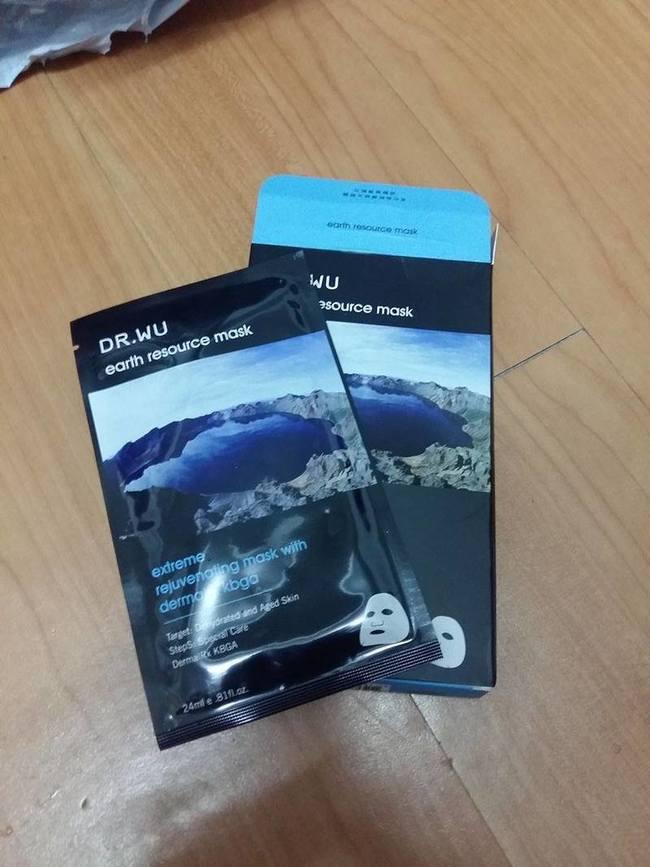 bella - [DR.WU 达尔肤医美保养系列] 火山湖蓝藻逆龄面膜