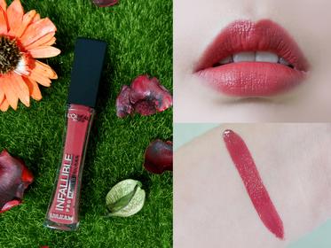 [L`OREAL PARiS 巴黎萊雅] 恆彩訂製絲絨唇露#314巴黎玫瑰酒