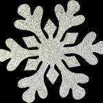 150x150 snowflake silver