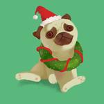 150x150 christmas dog